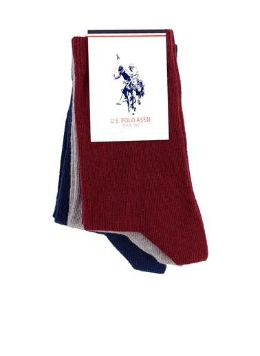 U.S. Polo Assn. Çorap Kırmızı